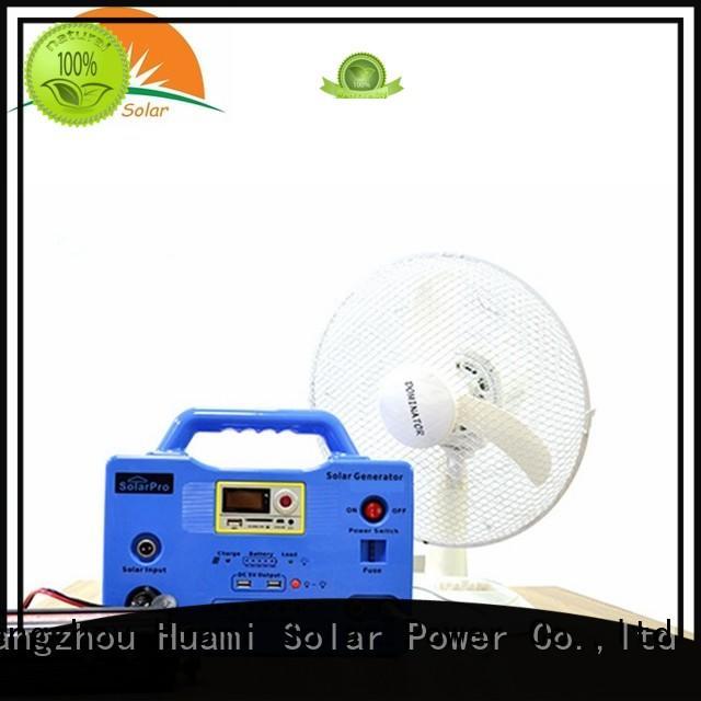 Quality Huami Brand lighting generator small solar kit