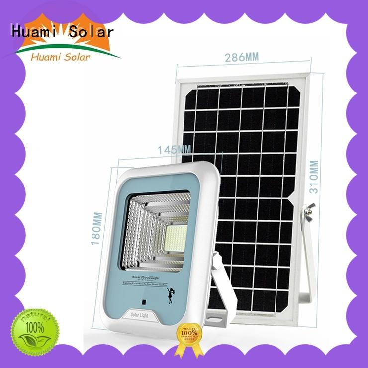 Huami high-quality solar powered lamp post