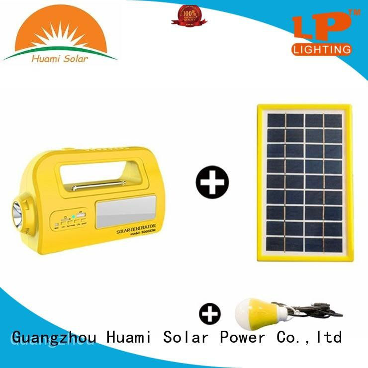 muti-function solar panel kit with battery grid high brightness for factory