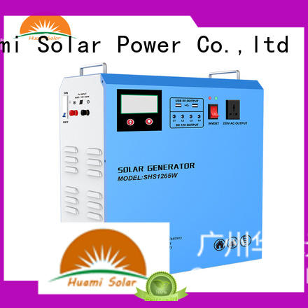 generator kit portable solar panel kits for home lst1210 Huami company
