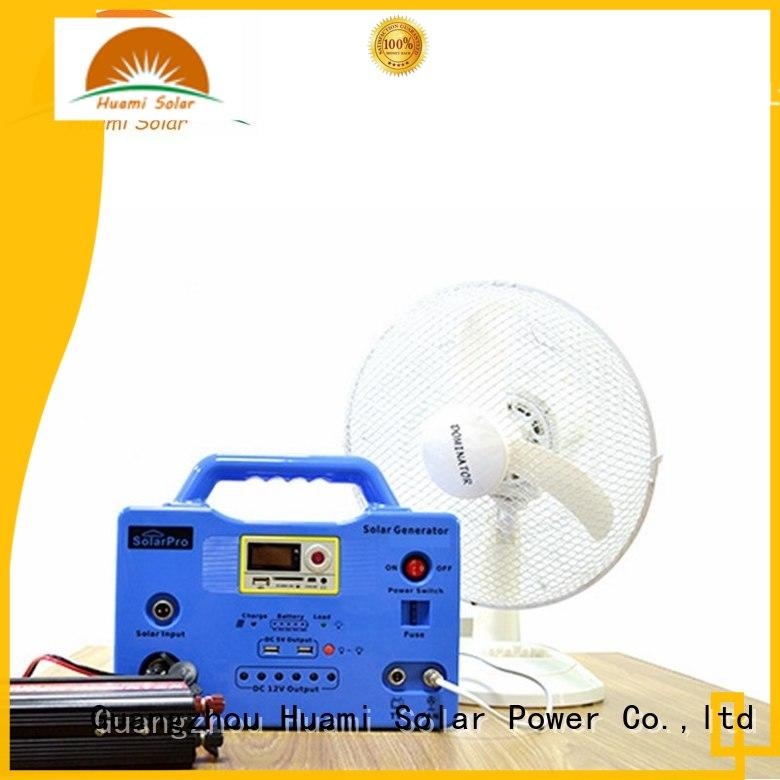 long lighting time portable solar generator kit 65ah high brightness for manyfacturer