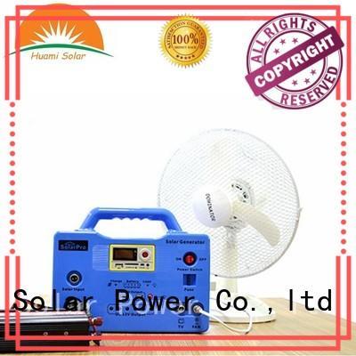 20W Camping Use MP3 Radio Function Solar System Generator