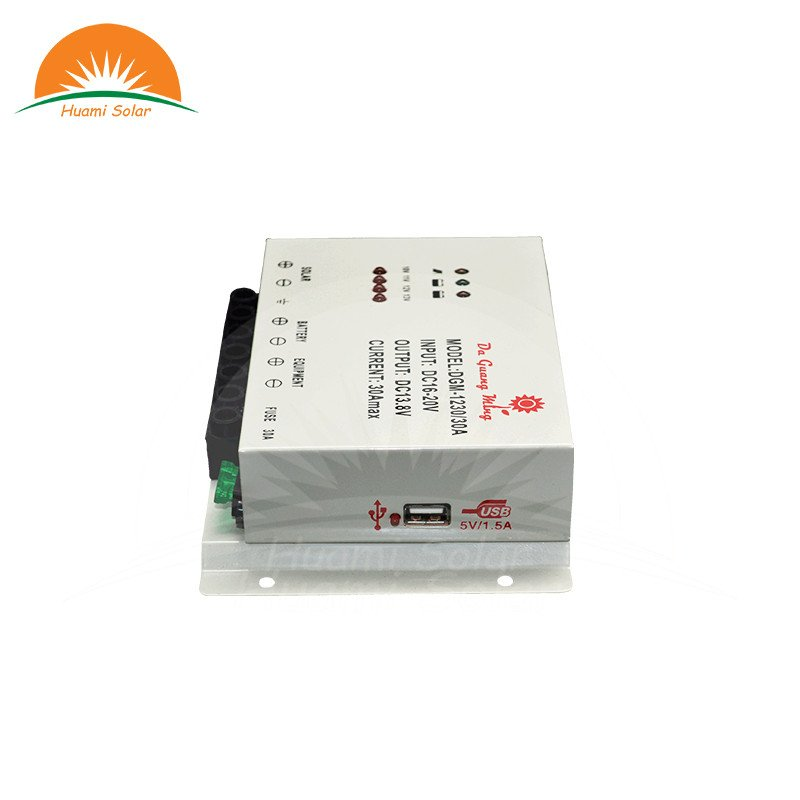 Huami 12V 20A PWM Solar Charge Controller DF-1220 PWM Solar Charge Controller image2